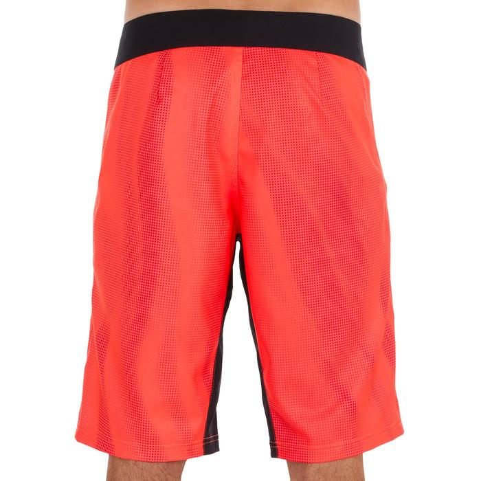 Surf boardshort long 500 Pixel Fluo