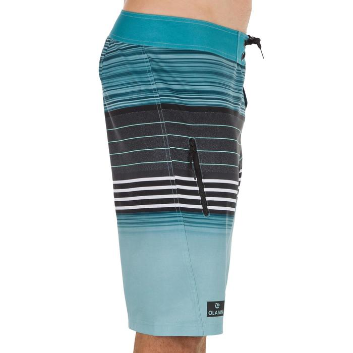 Surf Boardshort largo 500 Best azul turquesa