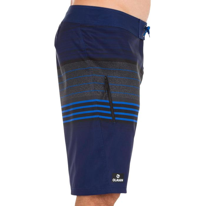 Surf boardshort long 500 Best Blue