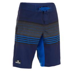 Surf zwemshort lang model 500 Best Blue