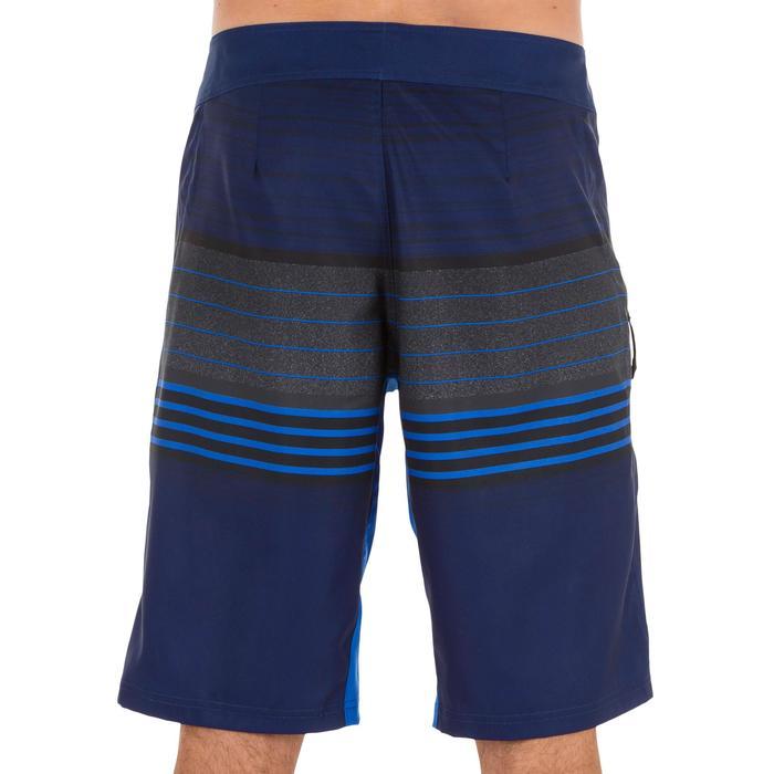 Lange Boardshorts Surfen 500 Best Herren blau