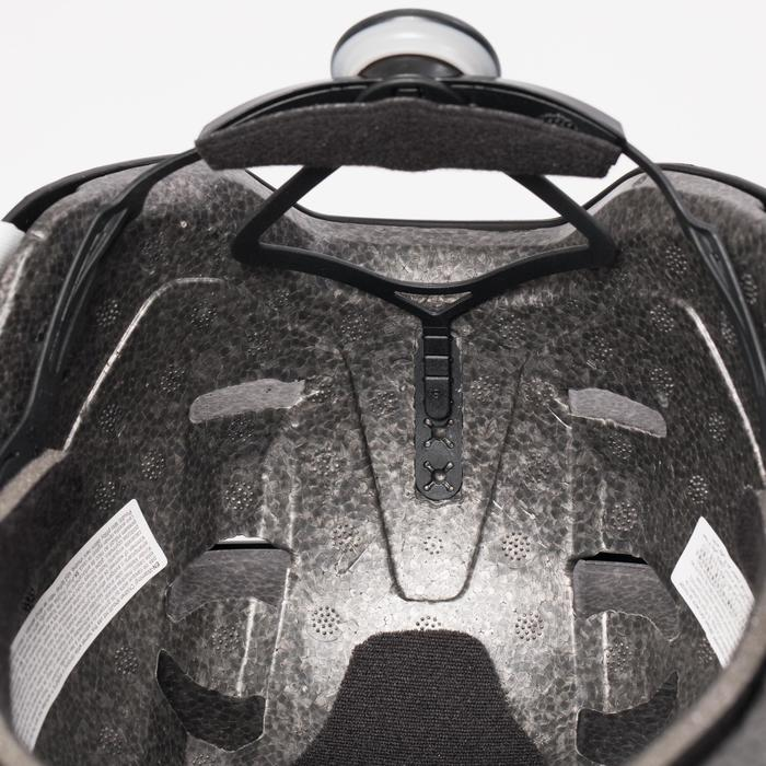 Helm voor skeeleren, skateboarden, steppen MF540 paars grijs