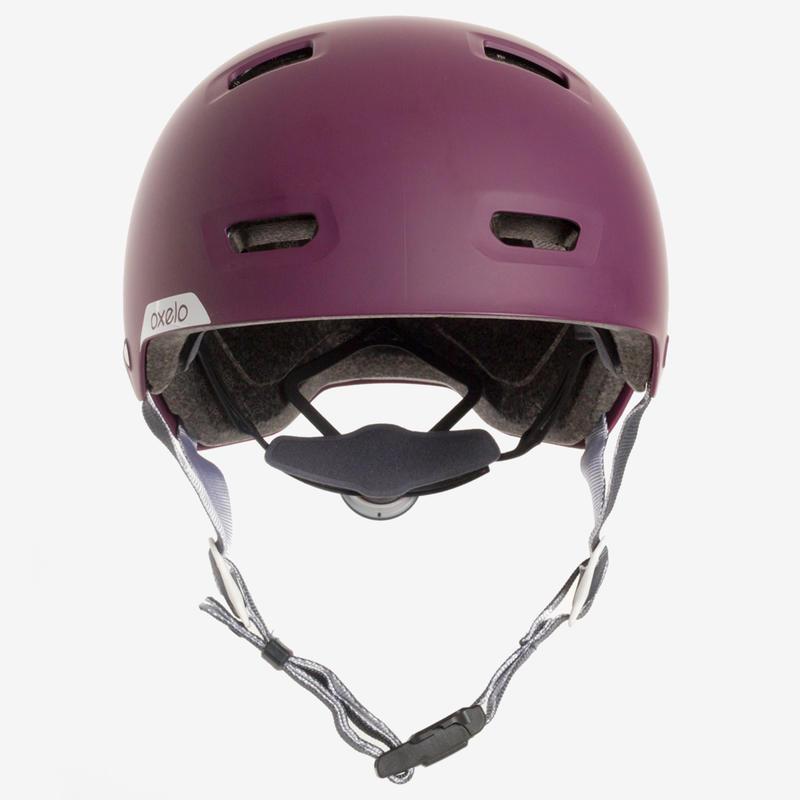 Mũ bảo hiểm cho đạp xe, đi xe trượt, trượt ván, trượt patin MF 540 - Tím/Xám