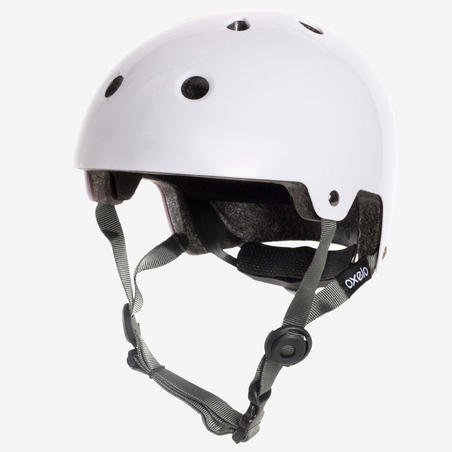 Inline Skating Skateboarding and Scootering Helmet Play 5 - White