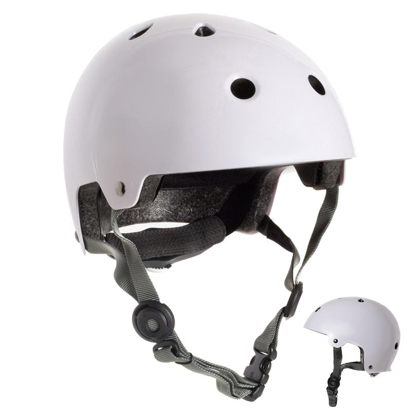 หมวกกันน็อคสำหรับอินไลน์สเก็ต สเก็ตบอร์ด และสกู๊ตเตอร์รุ่น Play 5 (สีขาว)