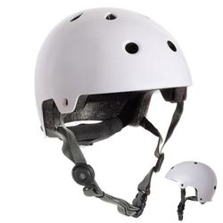Casco roller skate patinete PLAY 5 blanco