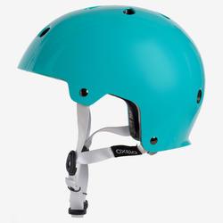 Casque patins à roulettes, planche à roulettes, trottinette, PLAY 5 turquoise