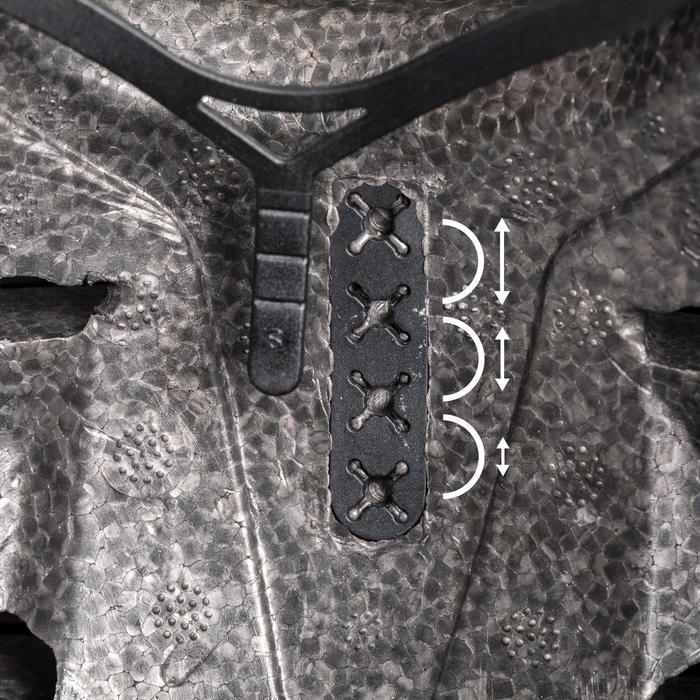 Casco para roller skateboard patinete MF500 negro azul