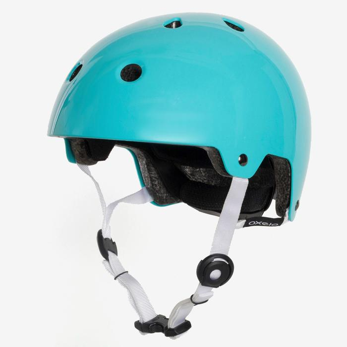 Casque roller skate trottinette PLAY 5 turquoise