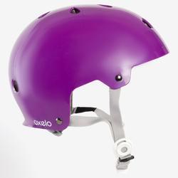 Casco de roller skateboard patinete bicicleta PLAY 5 violeta