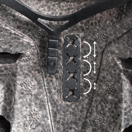Helm Sepatu Roda Skateboard Skuter MF500 - Abu-abu