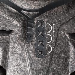 Casque roller skateboard trottinette MF540 BAD DAYS noir