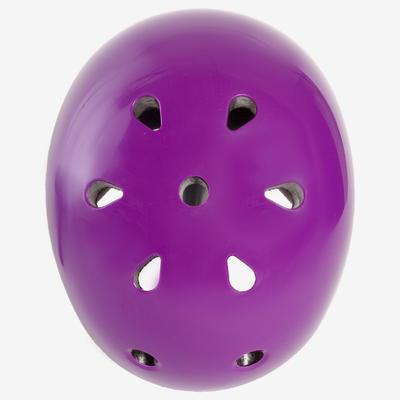 Play 5 Inline Skates Skateboard Scooter Helmet - Purple