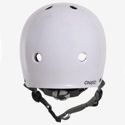 Play 5 Inline Skating, Skateboarding, and Scootering Helmet - White