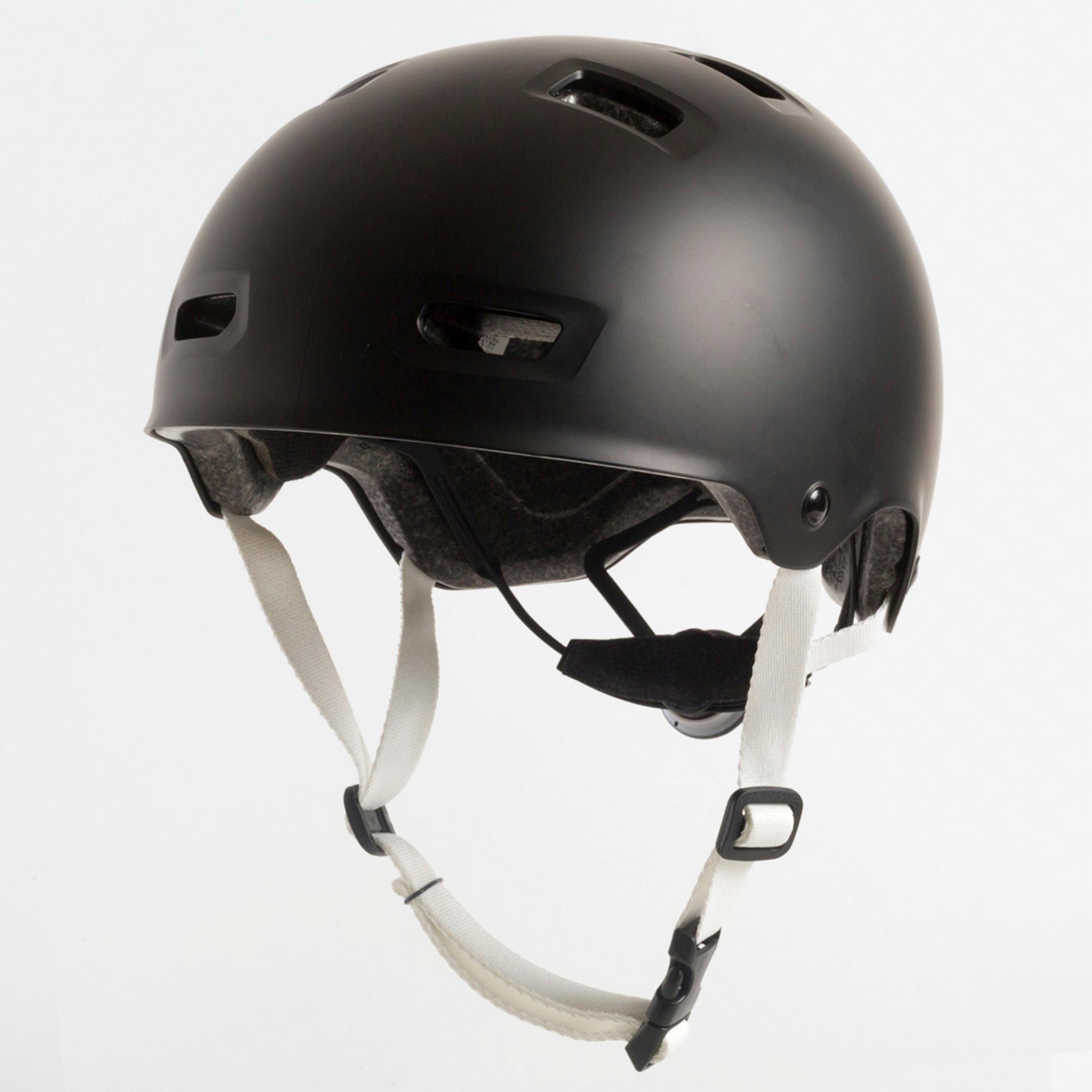 Casque MF500 patin à roulettes planche à roulettes trottinette vélo noir