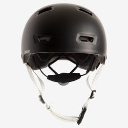 MF500 Inline Skating Skateboarding Scootering Helmet - Black