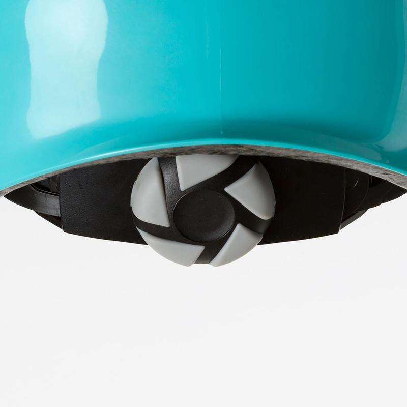 หมวกกันน็อครุ่น Play 5 สำหรับอินไลน์สเก็ต สเก็ตบอร์ด และสกู๊ตเตอร์ (สีน้ำเงินเทอร์ควอยซ์)