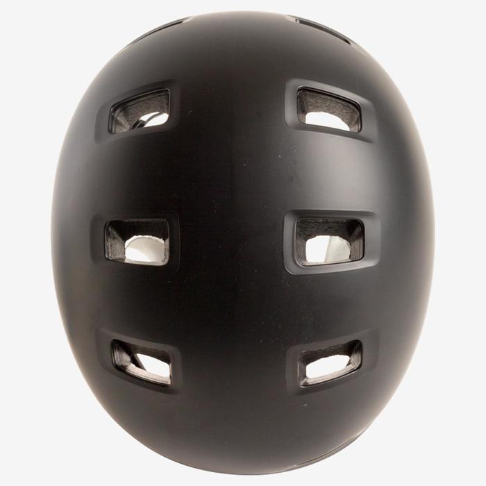 Helm MF 500 voor skeeleren, skateboarden, steppen zwart