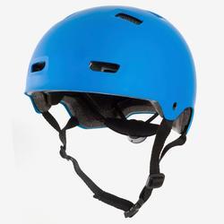 Casco para roller skateboard patinete MF500 azul