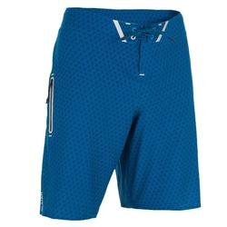 Surf zwemshort lang model 900 Deep Blue