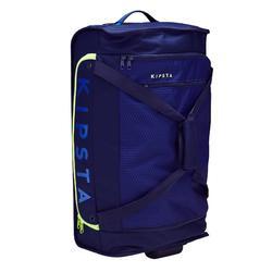 Trolley sporttas teamsport Classic 70 liter blauw/groen