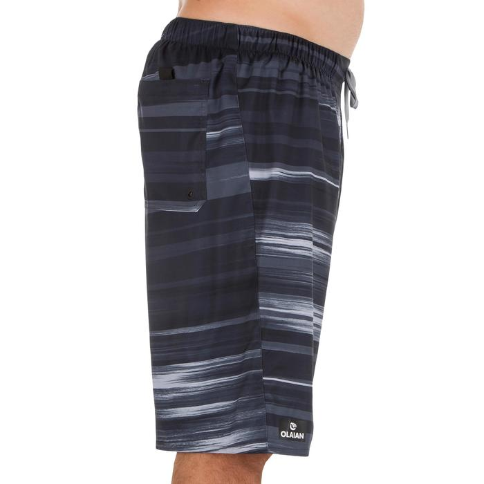 Surf boardshort long 100 Cloud Black