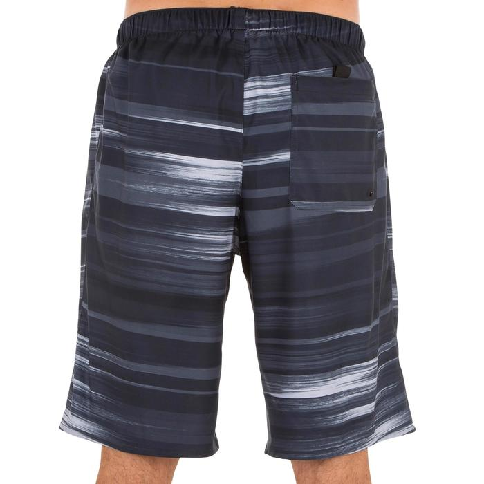 Surf boardshort largo 100 Cloud negro