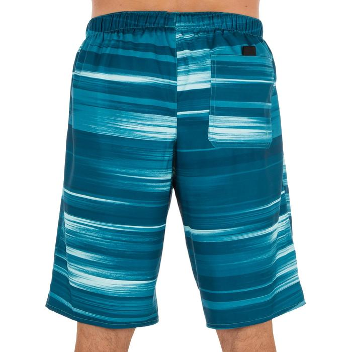 Surf boardshort largo 100 Cloud azul turquesa