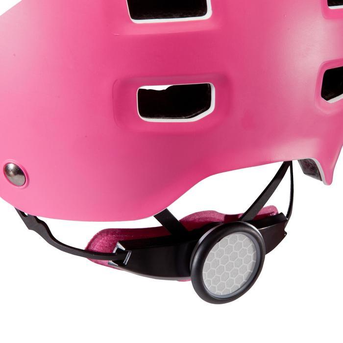 Fahrradhelm 520 Teen weiss/rosa