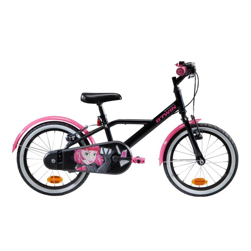 Kids' 16-Inch Bike (4.5-6 Years) 500 - Spy Hero Girl