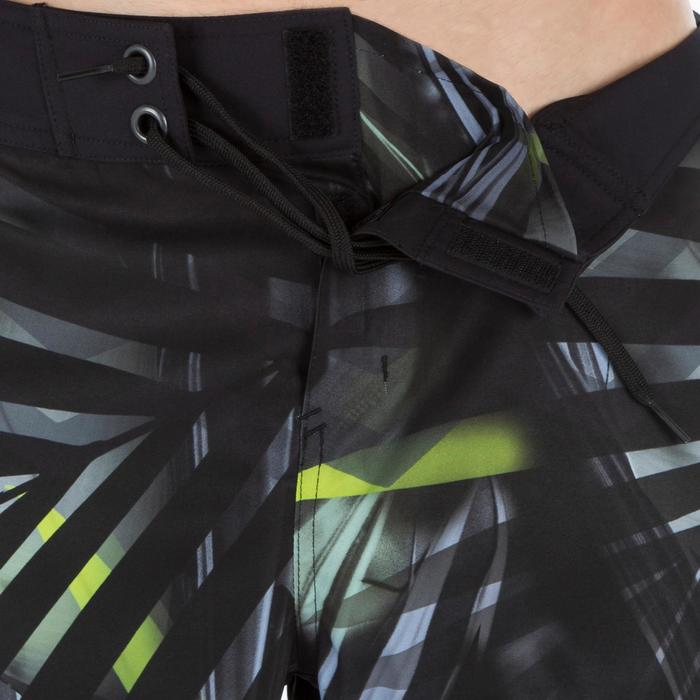 Lange surf boardshort 500 Jungle grijs