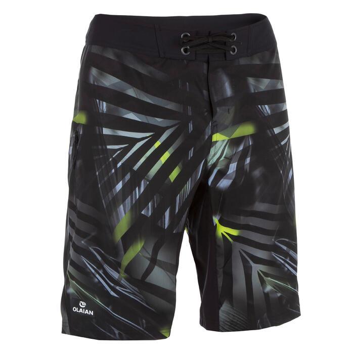 500 Jungle 長板衝浪短褲- 灰色