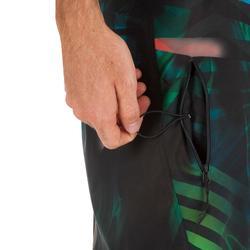 長版衝浪褲500-叢林綠