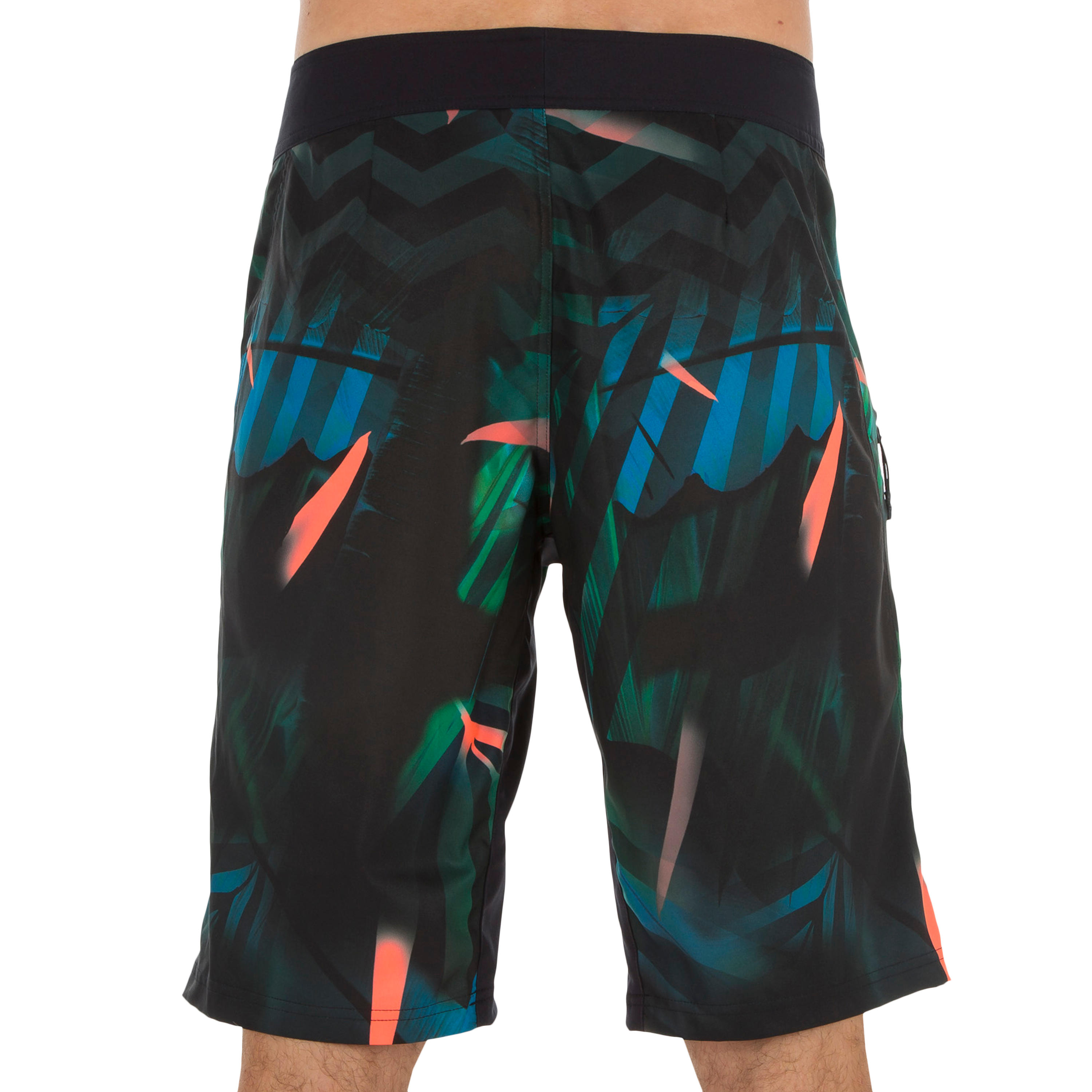 500 long surfing boardshorts Jungle green