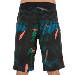 Lange surf boardshort 500 Jungle groen