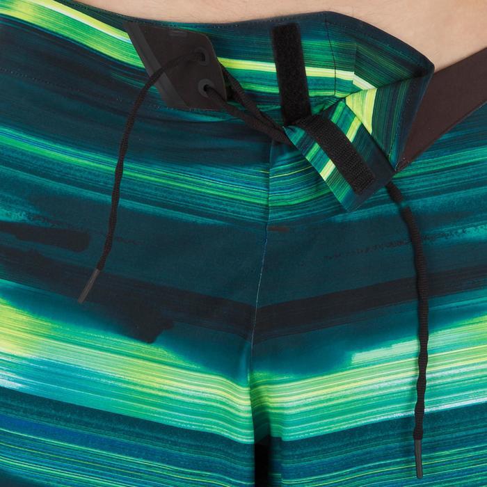 Lange Boardshorts SBS 900 Abysse grün