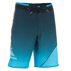 Heren boardshort New Wave blauw