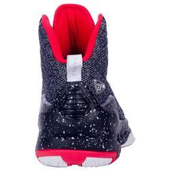 Chaussure de Basketball adulte confirmé Homme/Femme Shield 500 noir rouge