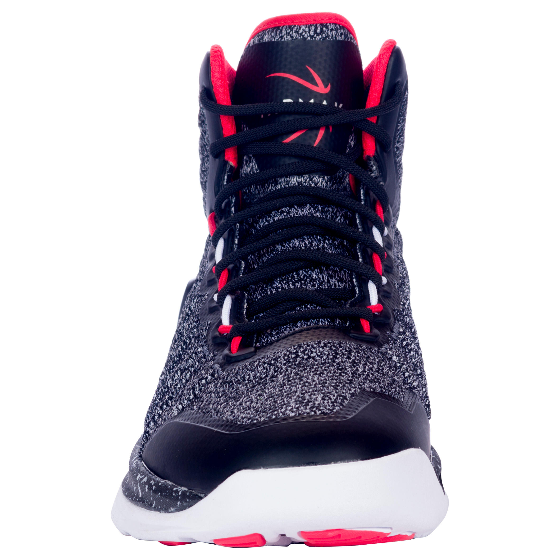 Shield 500 Intermediate Adult Basketball Shoes - Black / Red