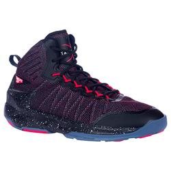 Shield 500 Adult Intermediate Basketball Shoes - Red/Black