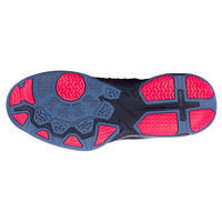 Chaussures de basketball Shield 500 rouge-noire / Hommes