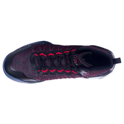 CHAUSSURE DE BASKETBALL HOMME SHIELD 500 rouge noire