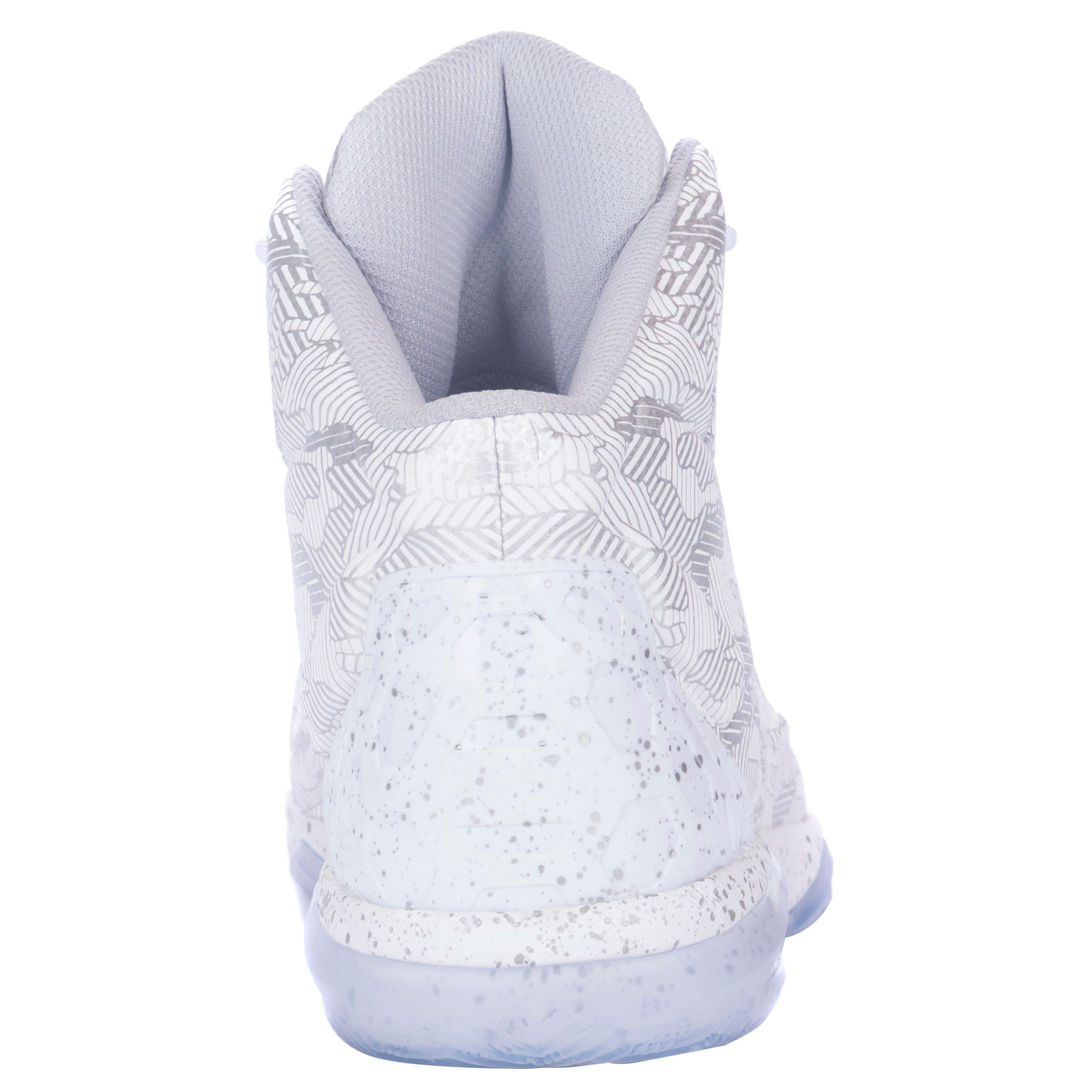 CHAUSSURE BASKETBALL TARMAK HOMME/FEMME CONFIRME STRONG 500 BLANC