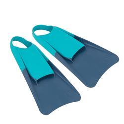 Aletas Bodyboard Olaian 100 Adulto Azul Verde
