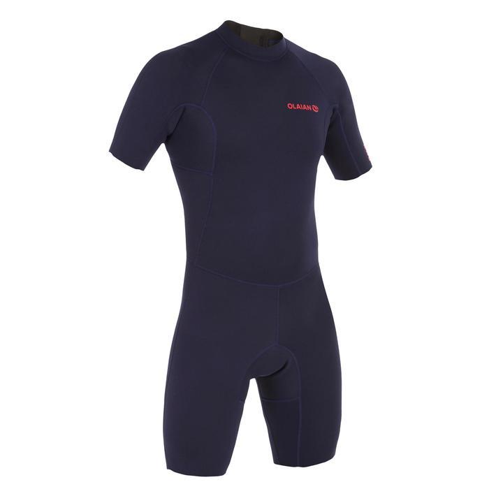 Heren shorty 100 voor surfen neopreen 1,5 mm marineblauw - 1297846