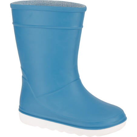 Kids' Sailing Rain Boots 100 - Light Blue