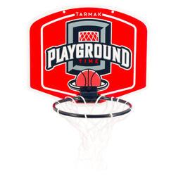 Mini panneau de basket enfant/adulte Set Mini B Playground rouge. Ballon inclus.