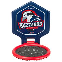 Canasta de baloncesto niño/adulto THE HOOP Buzzards azulTransportable.