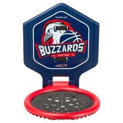 Panier de basket enfant/adulte THE HOOP Buzzards Bleu. Transportable.