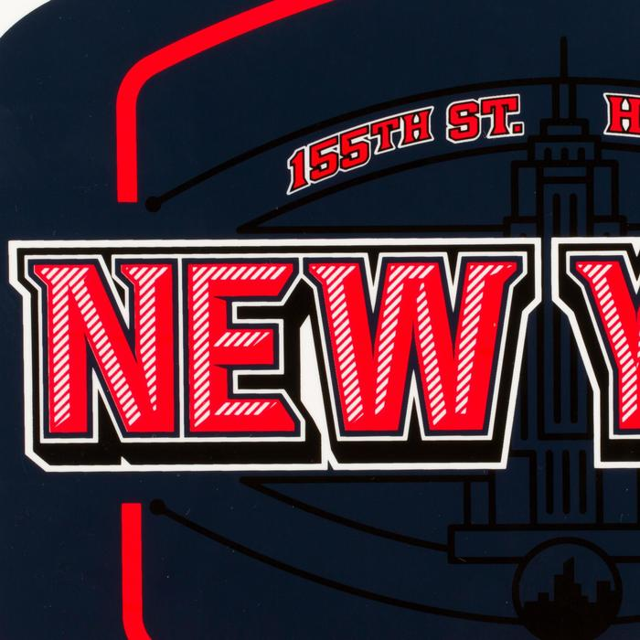 Mini panneau de basket enfant/adulte Set Mini B New York bleu. Ballon inclus. - 1297971
